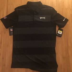 New - Eagles Nike Sideline Men's Polo (Small)